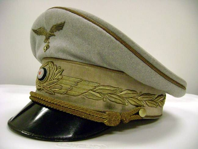 2b86d2fa723 One of the many peaked crusher visor caps worn by Hermann Göring ...