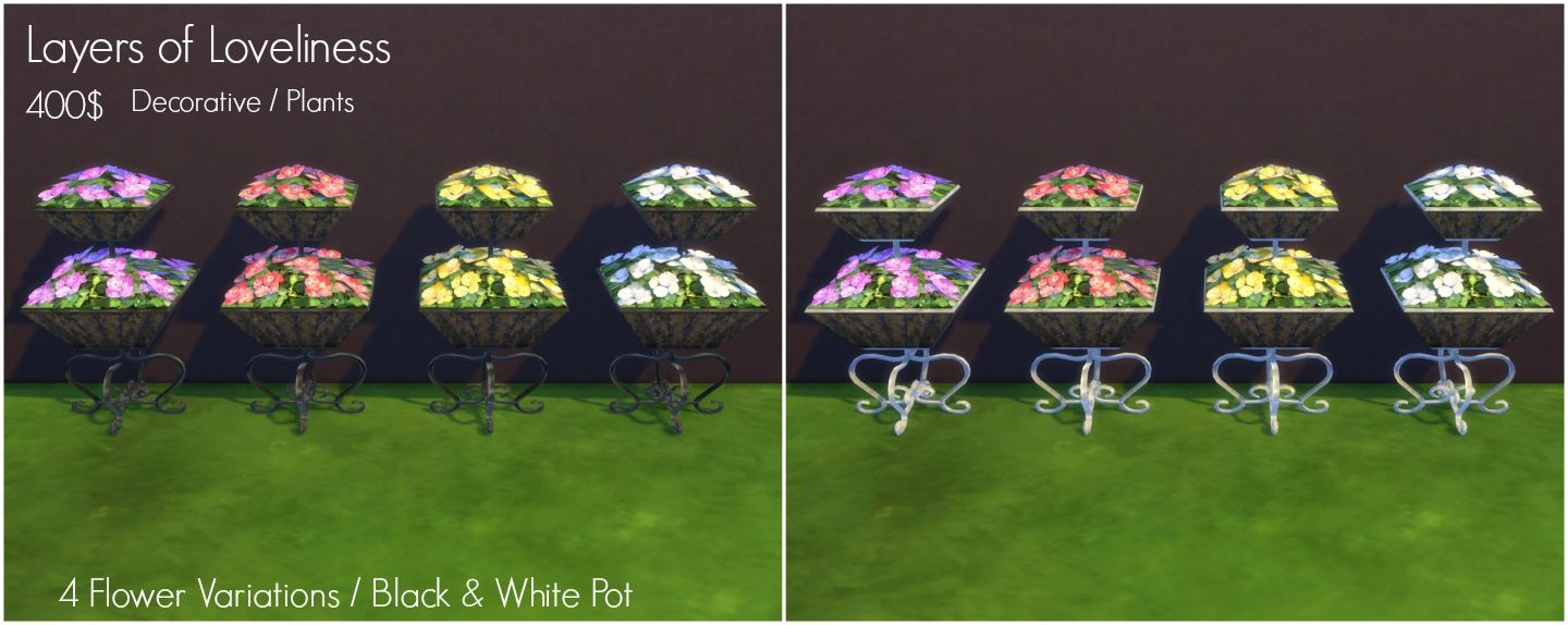 Mod The Sims - TS2 to TS4 - Piece of Quiet Outdoor Set