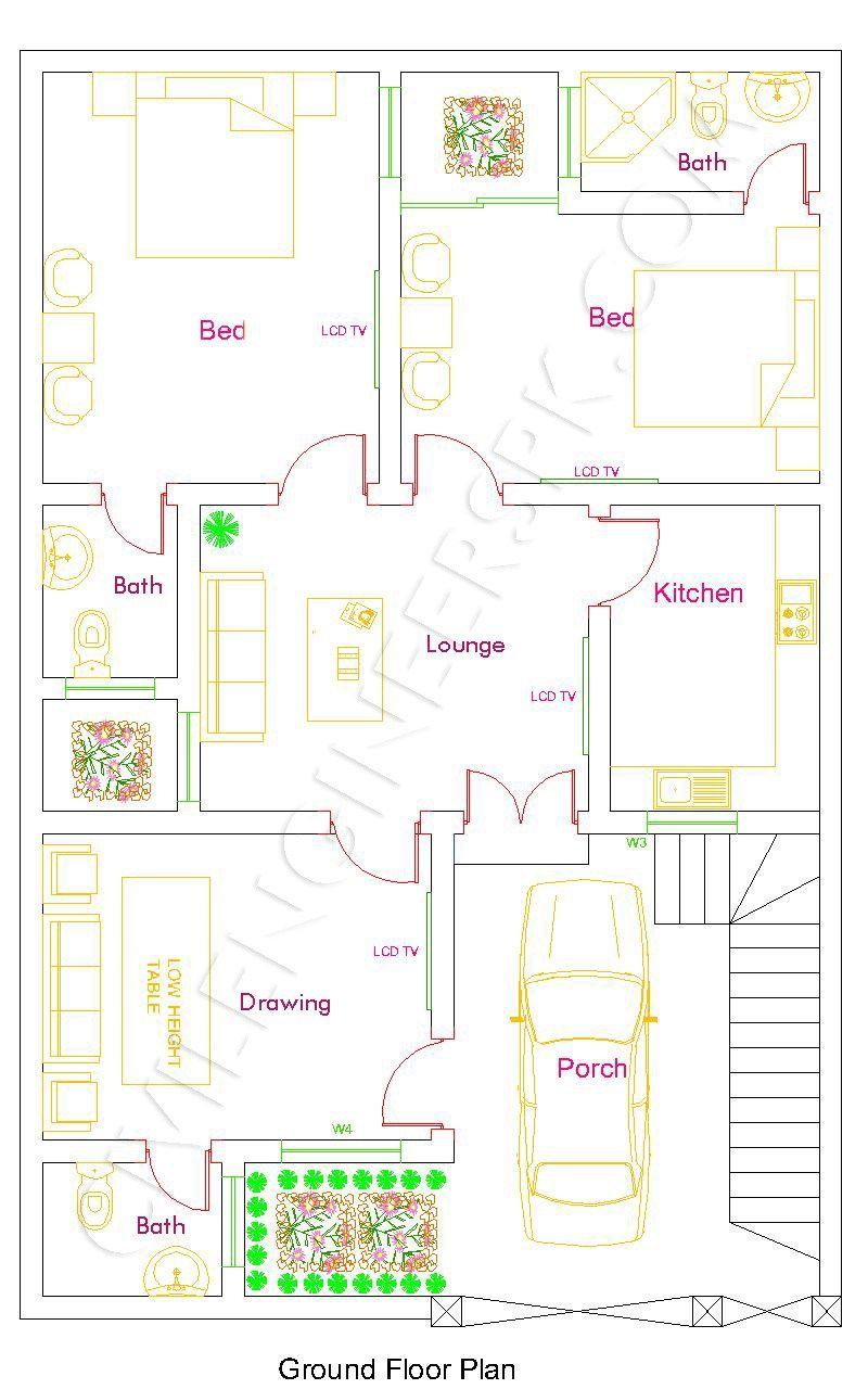 marla house design also mirza in pinterest casas de rh co