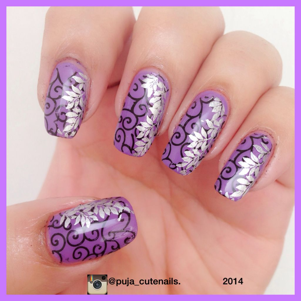 Double Stamping Nails Inspired By Nailstamp4fun YouTube