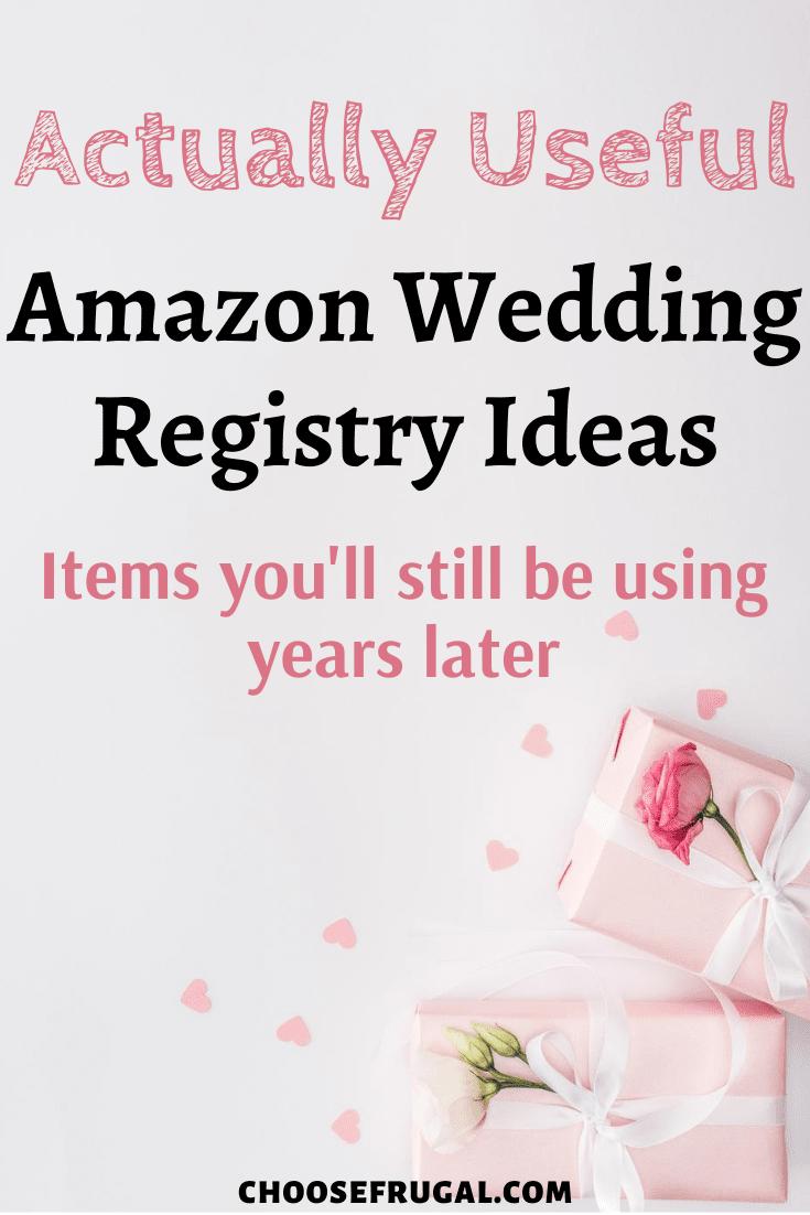Actually Useful Amazon Wedding Registry Items Not Cookware Amazon Wedding Registry Wedding Gift Registry List Wedding Registry Items