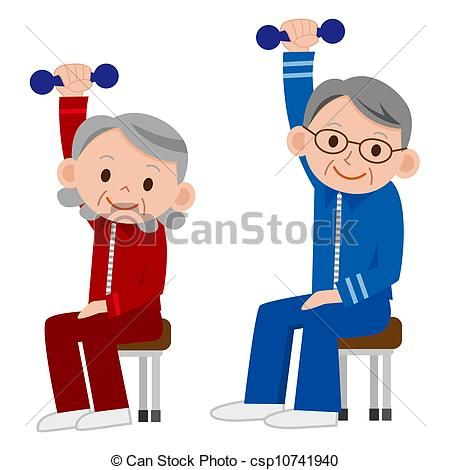 Funny Pictures Of Old People Exercising Google Search Free Clip Art Funny Pictures Senior Fitness