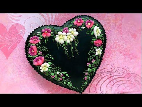 147) Romantic Heart Cookie.. Magic Night.. - YouTube | Valentines ...