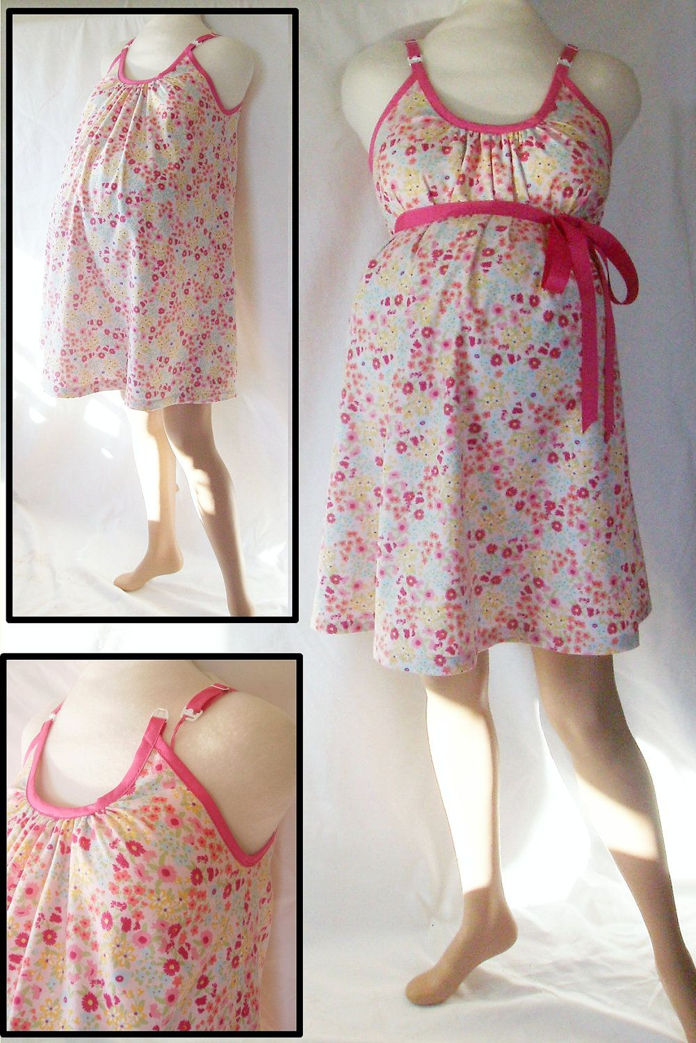 Maternity Hospital Gown delivery nursing gown by MilkThreads, $49.00 ...