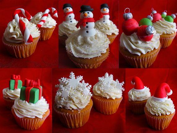 Cupcake Decorating Ideas Easy Christmas Designs
