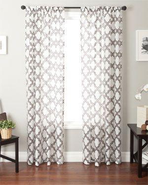 Love The Grey Walls And Wood Floors. Cute Curtains Too :). Livingroom ...