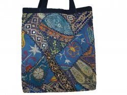 These are the right kind of tote bags for working women like school teachers or college goers students. The tote bags are available in pink and blue shades. These stylish tote bags are made with patchwork of beautiful assorted sari fabrics connected with hand stitching. $35. http://www.craftmontaz.com/products/designer-colorful-tote-bags-fair-trade-india-info.html