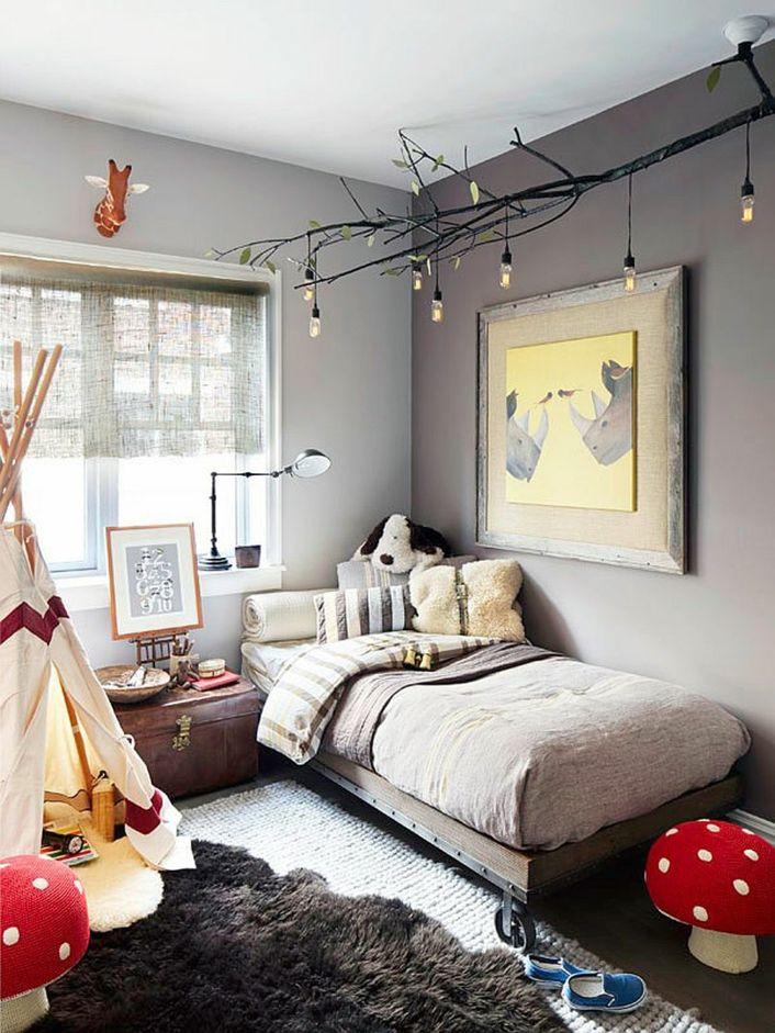 Decoración de cuartos para niños con bombillas Edison | Habitacion ...