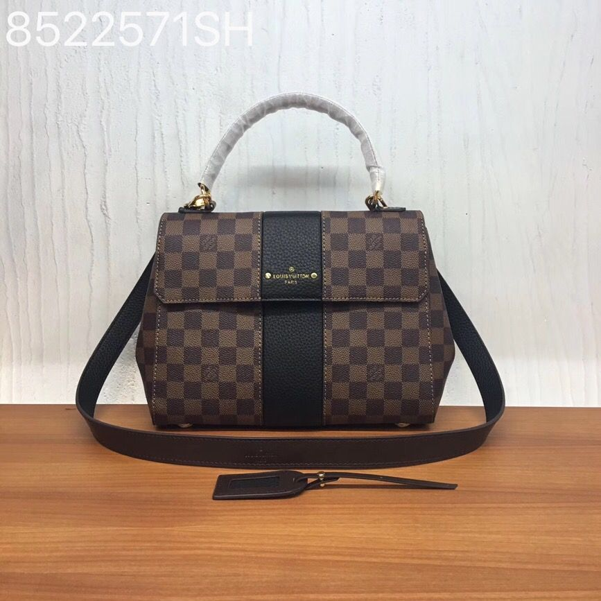 f614c50eac Louis Vuitton lv bond street bag leather AAA