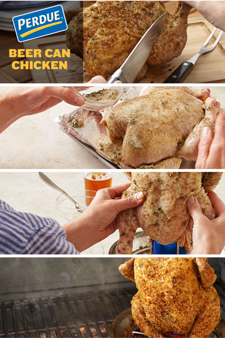 Beer Can Chicken Recipe Beer Can Chicken Canned Chicken Chicken