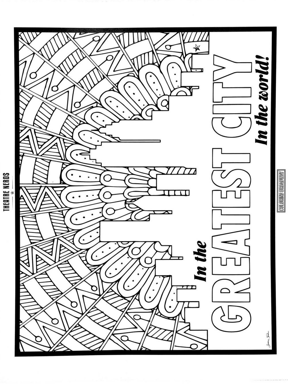Hamilton Inspired Coloring Pages- Set One  Coloring pages