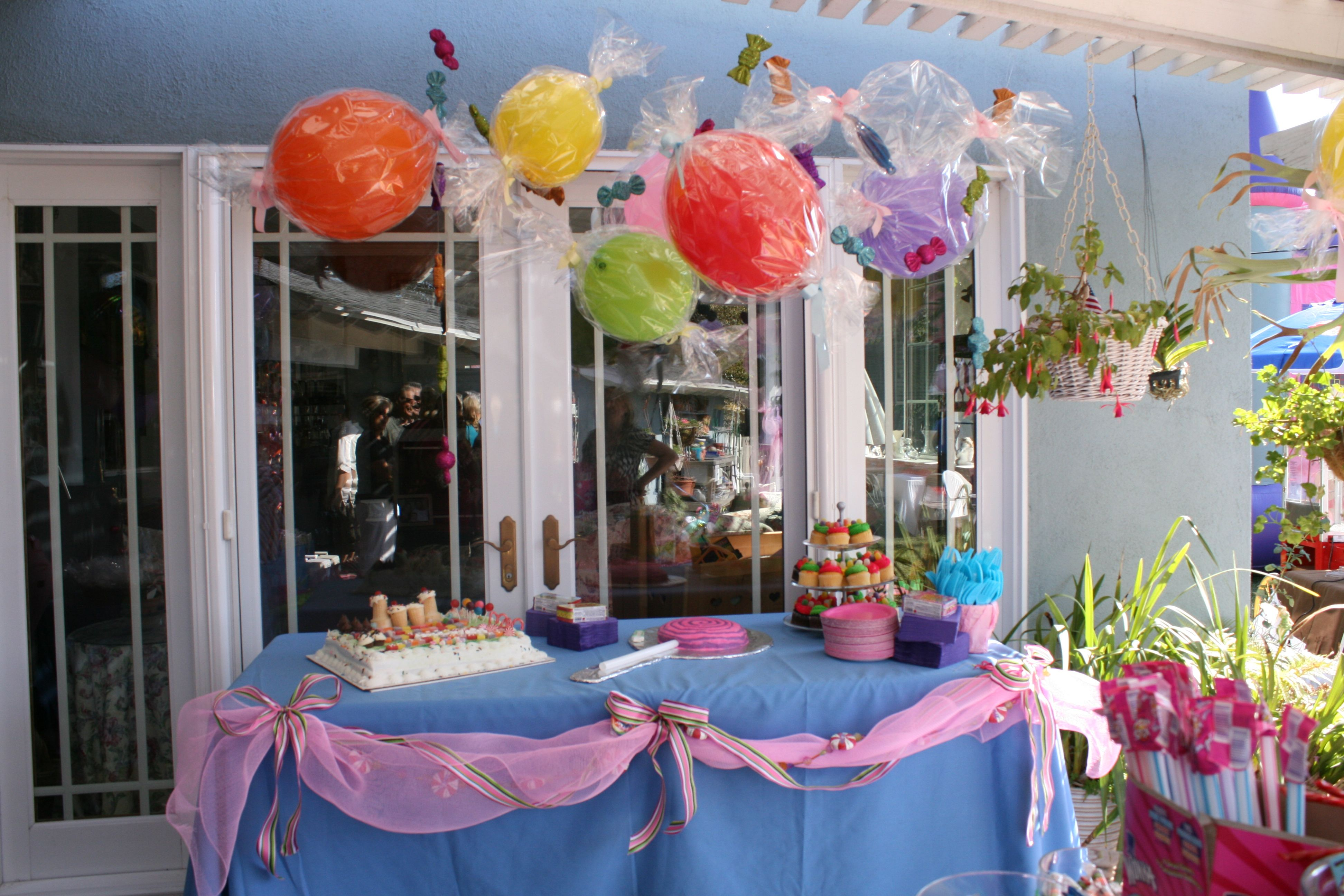 Candy Decorations Candy Land Birthday Party Part Two Diy Party Decorations