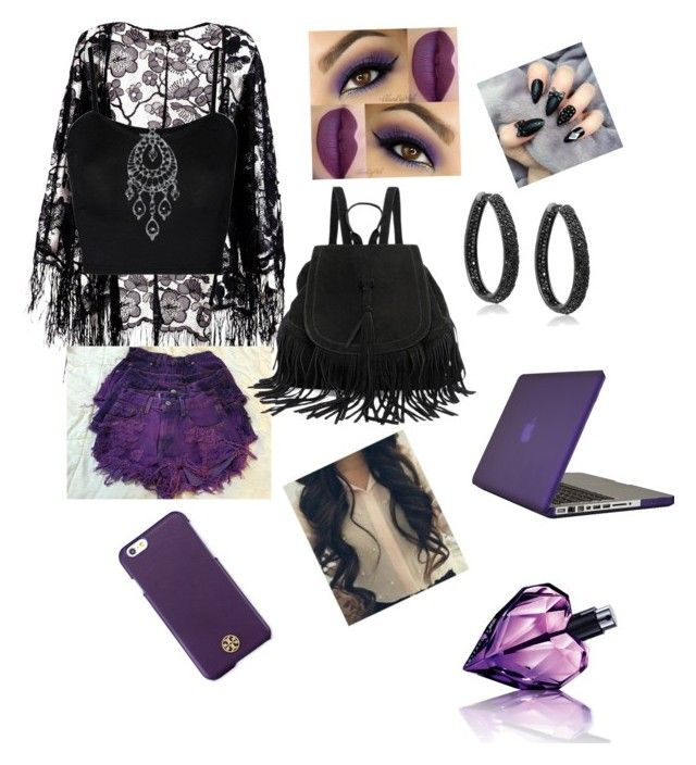 """""""Perfect high:Riley"""" by eliyanakubelis on Polyvore featuring Pussycat, WearAll, 1928, Bling Jewelry, Tory Burch, Speck and Diesel"""