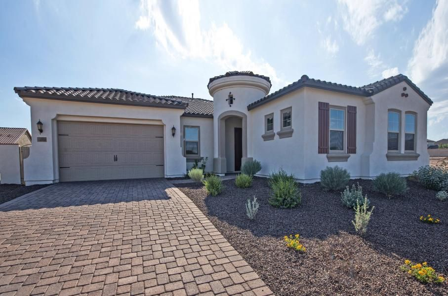 Fine New Home Builders In Surprise Az Throughout Surprise Home Interior And Landscaping Oversignezvosmurscom