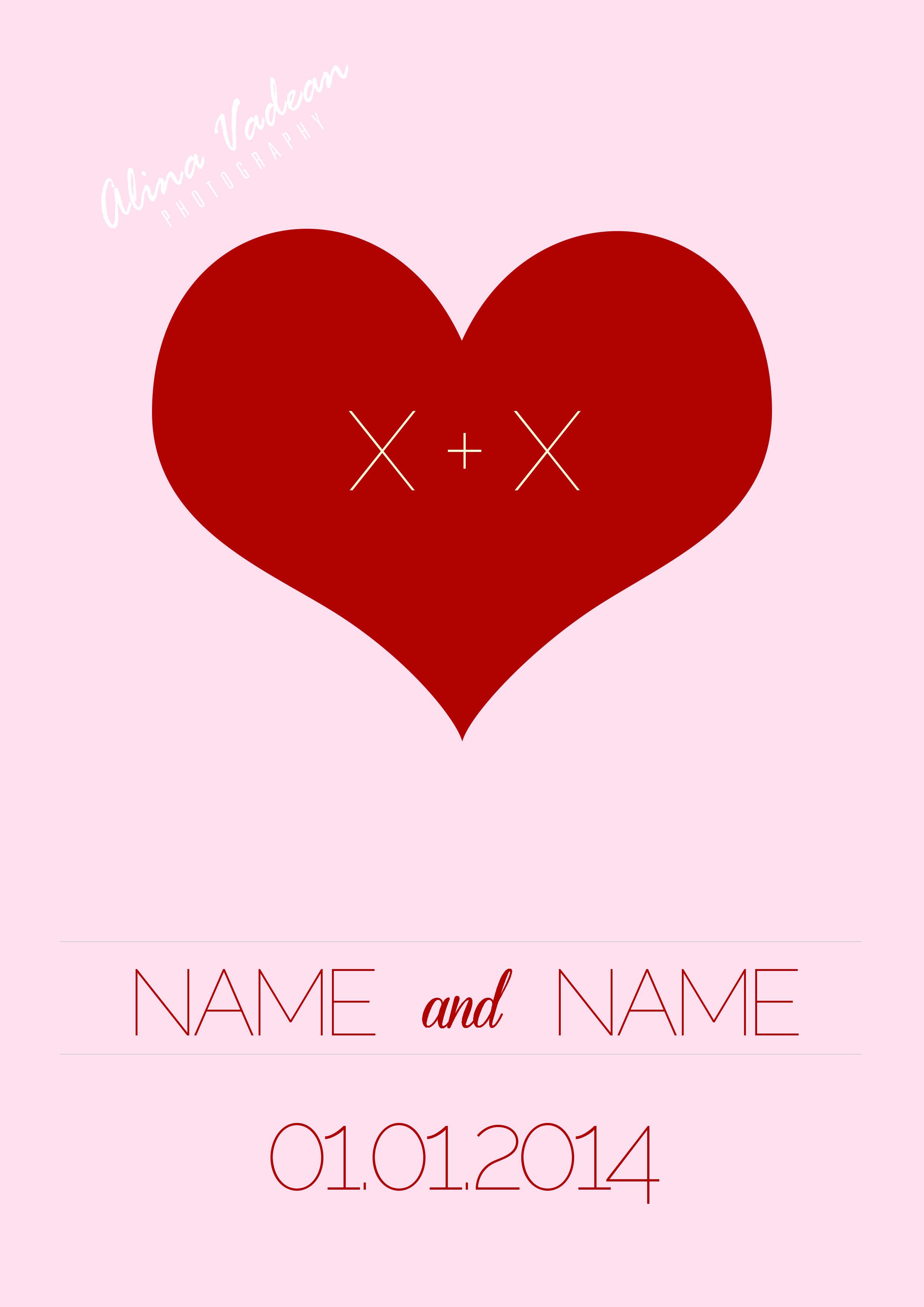 Minimalist Wedding Invitation | C R E A T I V E D E S I G N ...