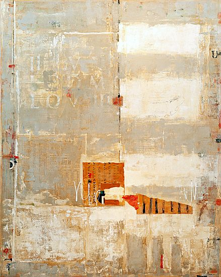 Cathedral by Jean Geraci - #MixedMedia on canvas