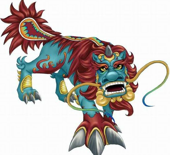 Chinese New Year China Culture Mythical Monsters Chinese Mythology
