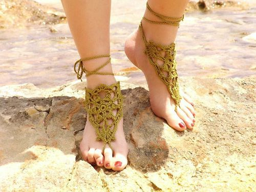 ... another cool pair of barefoot sandals