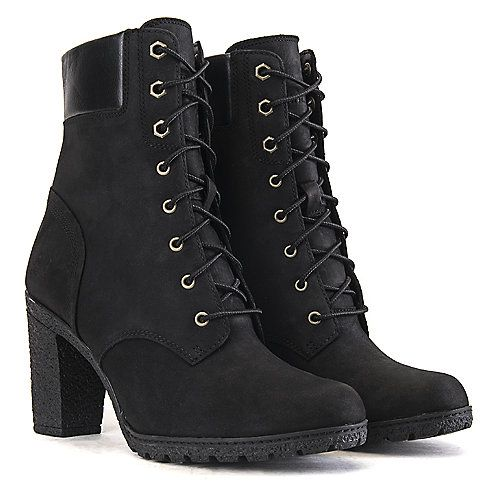 Buy Timberland Glancy 6 IN Women's Black Low Heel Ankle Boots Online. Find  more womens