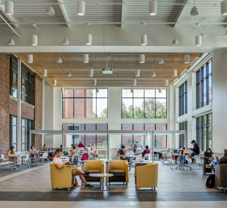 Interior Decorators In Michigan: Central Michigan University – Grawn Hall