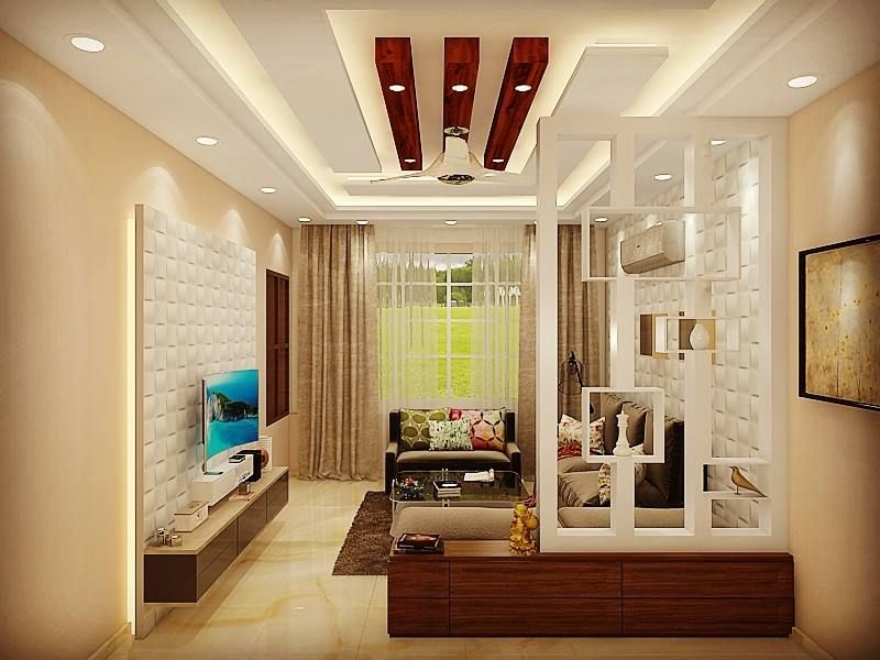 1 Bhk Flat Interior Design Photos Living Room Partition Drawing Room Interior Design Flat Interior Design