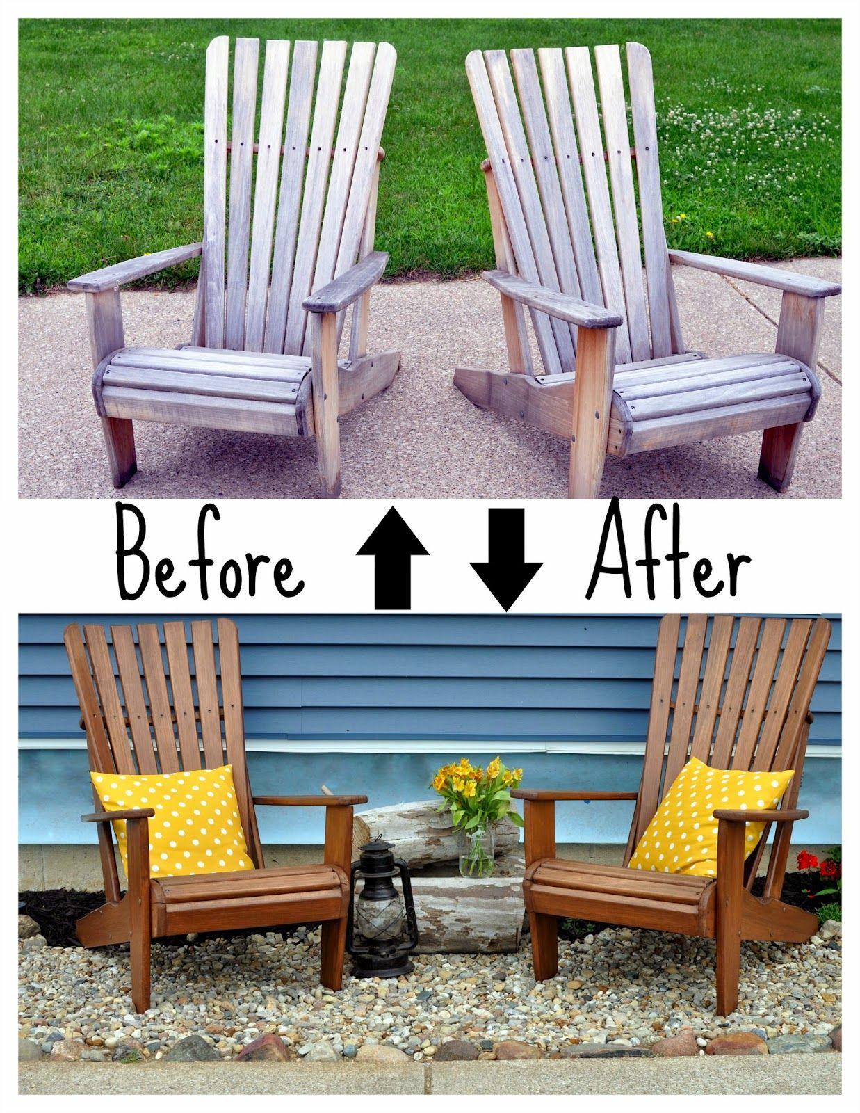 WeatherProofing the Adirondacks Outdoor wood furniture