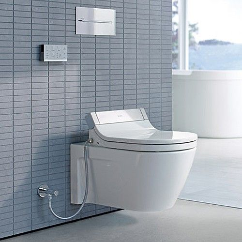 starck 2 wall mounted toilet for use with sensowash c - Wall Mount Toilet