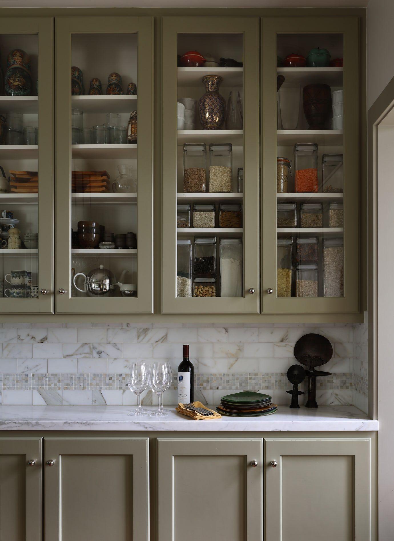Kitchen Glass Cabinet Detail Kitchen Vignette Design Detail Mediterranean By Maria Haidamus Interiors Mit Bildern Kitchen Glass Design Kuche