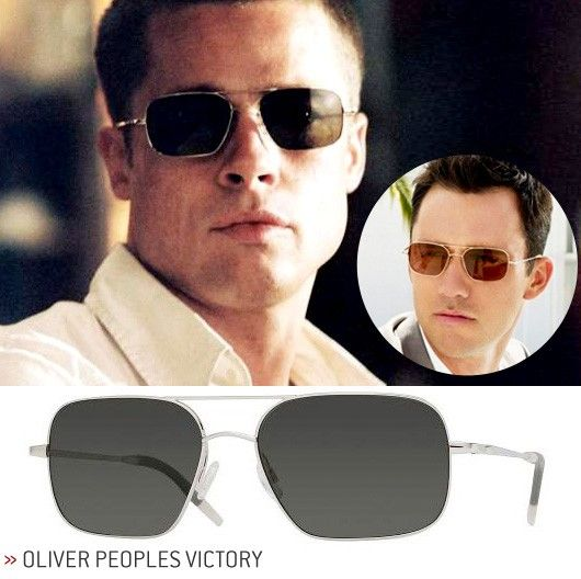 fab18f1cc0 Oliver Peoples Men s Used Sunglasses (Brad Pitt