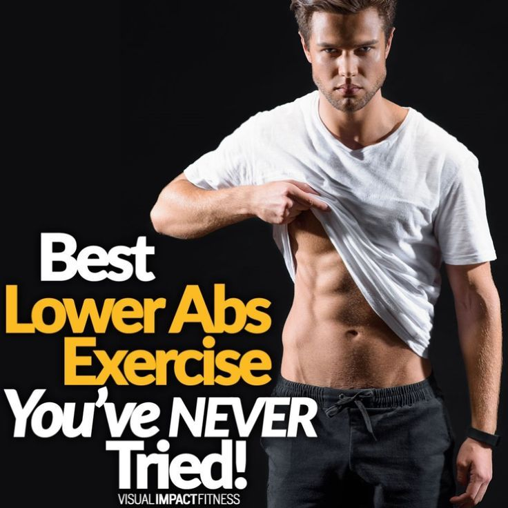 Best Lower Abs Exercise Youve NEVER Tried