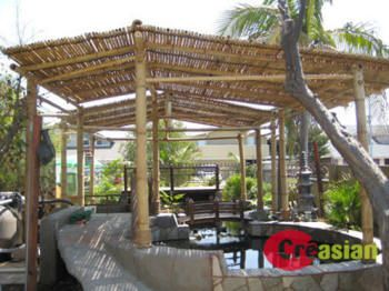Merveilleux BAMBOO PATIO COVERS | Bamboo Patio Cover Model 1