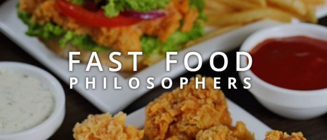 @crowdtap tappin' Fast Food Philosophers | Crowdtap