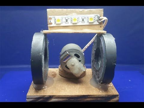 Prima Free energy electricity using magnets motor with fan - Science CB-86