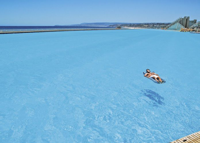Gigantic Swimming Pools Called Crystal Lagoons Coming To