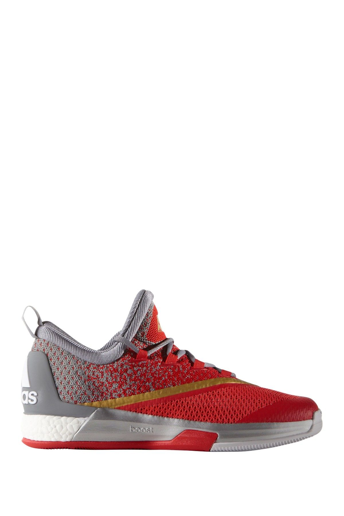 adidas Adipower de Hombres s Boost Para Zapatos de Golf, Gris (Clear Grey/Black/Bold Orange), 8 D(M) US