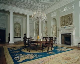 Lansdowne House Dining Room By Robert Adam Metropolitan Museum Of Art New York