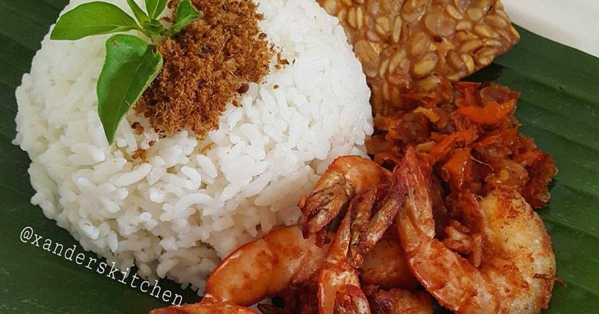 Resep Nasi Udang Sambal Setan Oleh Xander S Kitchen Resep Resep Masakan Resep Masakan