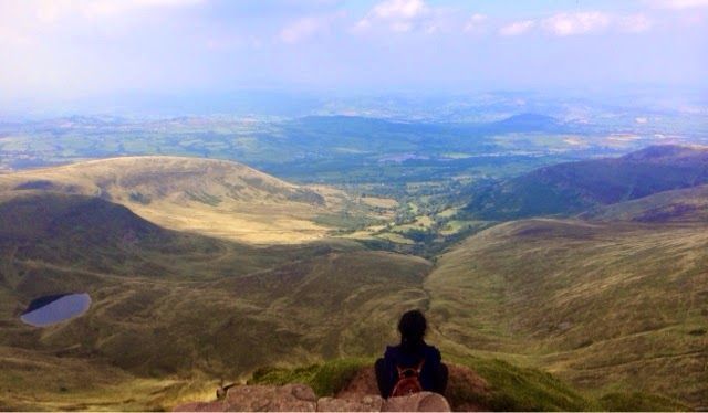 Sushi, Turtles and Life: Climbing Pen Y Fan