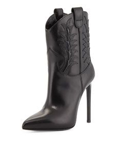 91fecba62a72f High-Heel Western Boot | Stiletto Obsessions | Western boots, Shoes ...