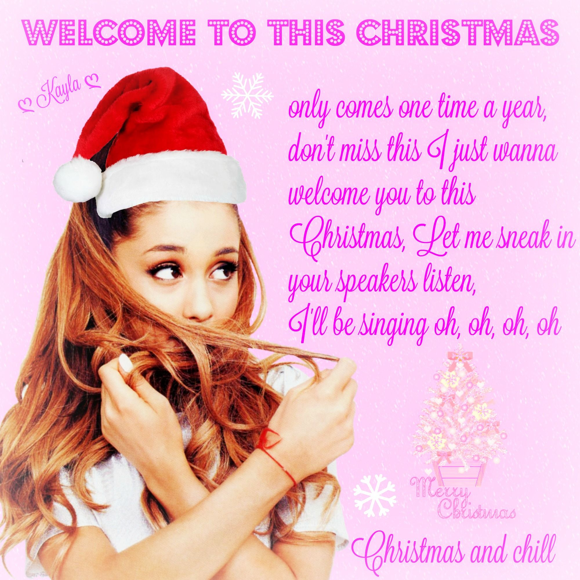 Christmas And Chill.My Edit Pinterest ღ Kayla ღ Christmas And Chill
