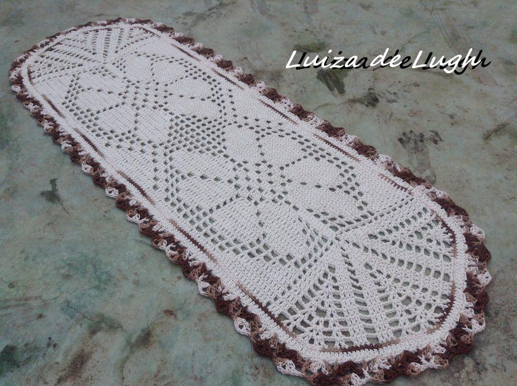 Tapete para pia de cozinha passo a passo pra casa for Tapetes de crochet
