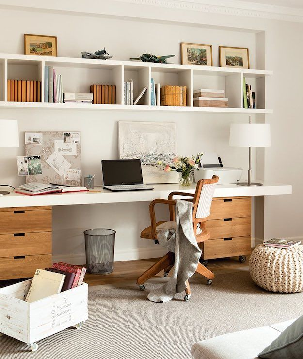 Cozy Productivity Boosting Study Room Ideas Living Room Ideas Home Office Design Home Office Space Home Office Decor