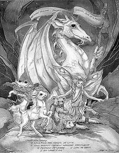dragon fairy coloring page. | Fairies to Color | Pinterest | Dragons ...