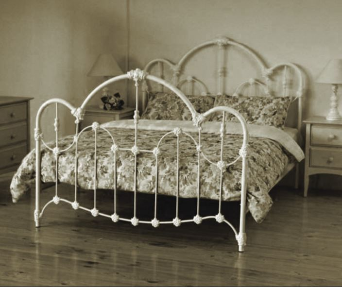 Wansea Queen Double Size Cast And Wrought Iron Bed Antique White Ebay Yatak Ev Dekorasyonu Ahsap Projeleri