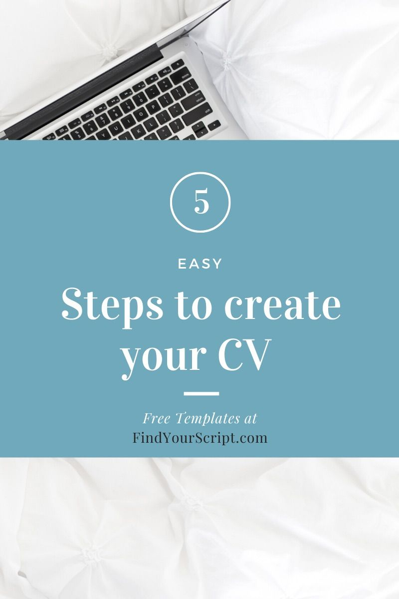 How to create curriculum vitae cv with free template