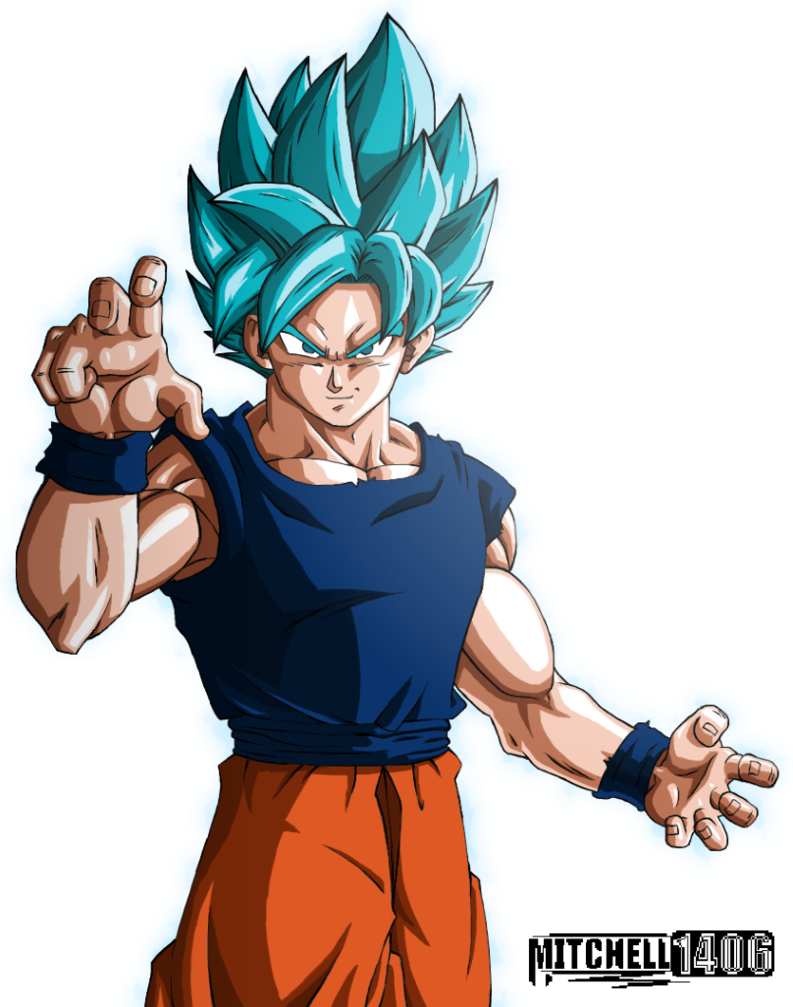Perfected Super Saiyan Blue Goku By Mitchell1406 Deviantart Com On Deviantart Goku Super Saiyan Blue Dragon Ball Super Super Saiyan Blue