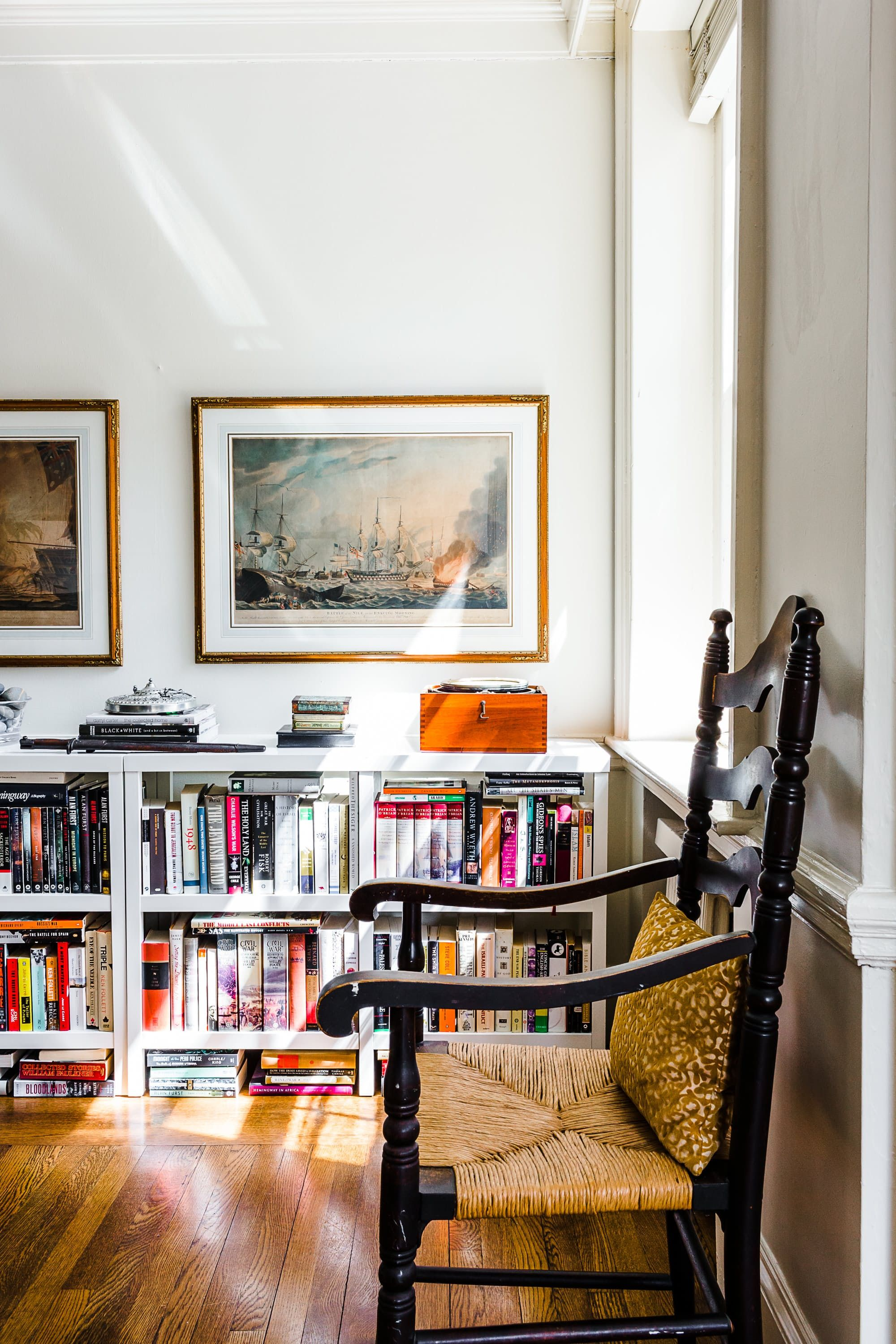 Bright Books Add A Pop Of Color To The Room