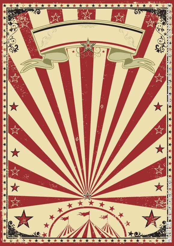 Circus Circus Poster Vintage Circus Theme Vintage Circus Party