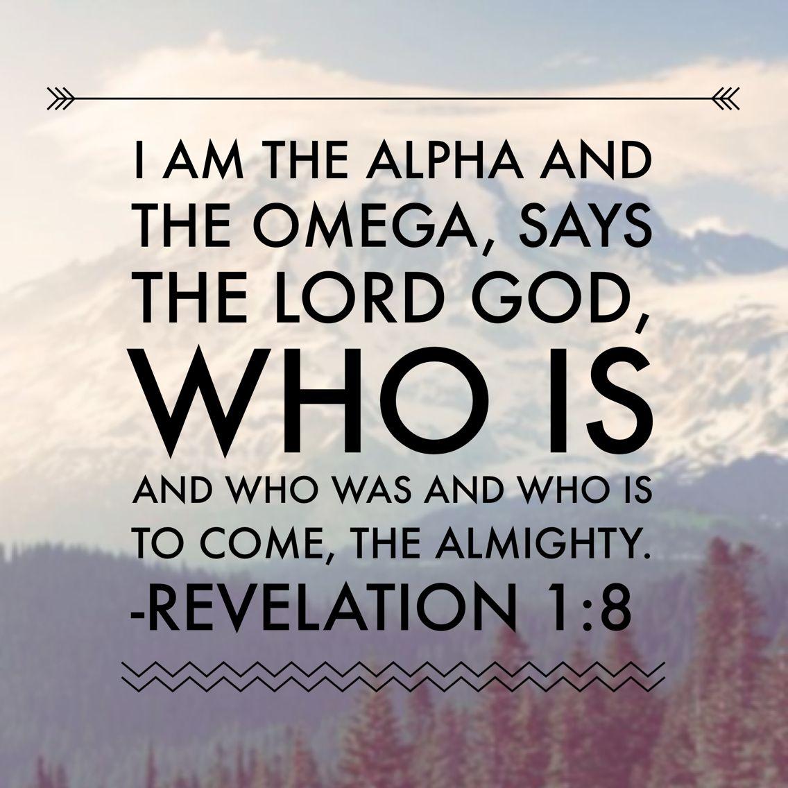 Revelation 1:8 #biblestudyfellowship