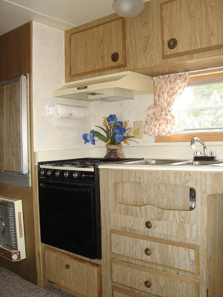 1976 Terry Travel Trailer Remodeled In 2006 Travel Trailer Remodel Trailer Remodel Camper Living